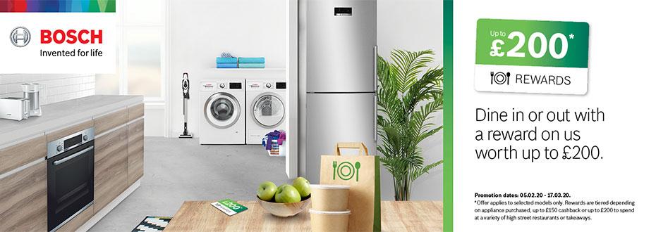 Bosch Kitchen Appliance Promotion