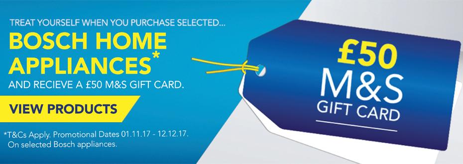 Bosch M&S Gift Card