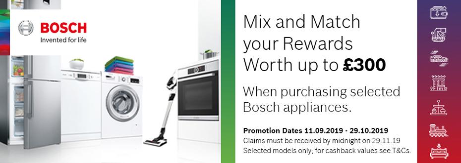 Bosch Kitchen Appliance Promotion Oxfordshire