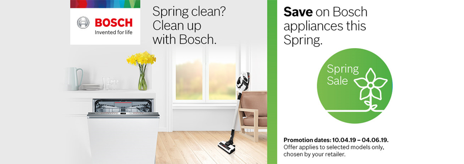Bosch Spring Sale Oxford