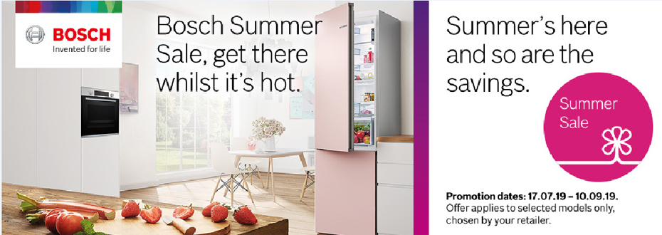 Bosch Summer Savings Oxford