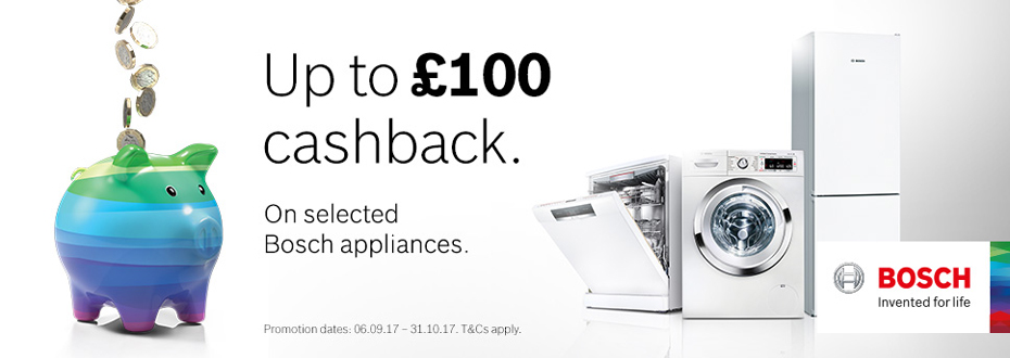 Bosch Cash Back Promotion
