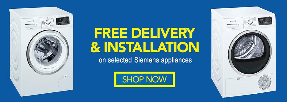 Siemens Free Installation & Disposal