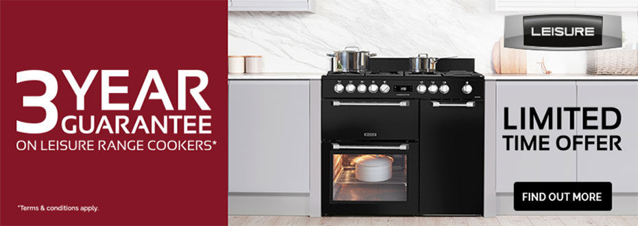 Leisure Cooker  Oxford 3 Year Guarantee