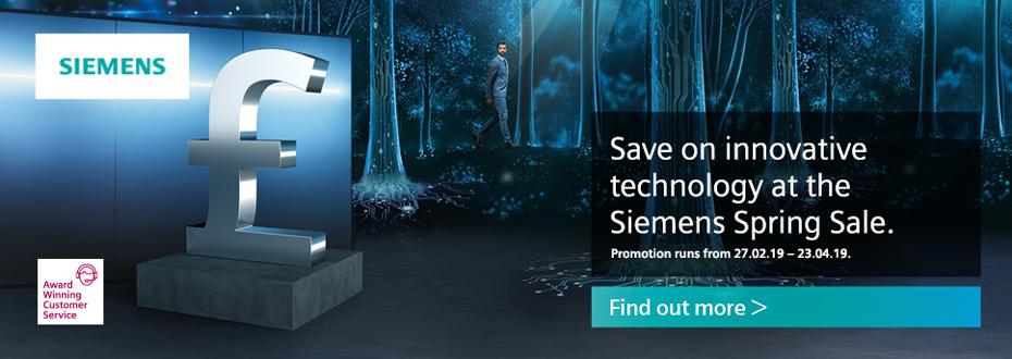 Siemens Spring Sale 2019