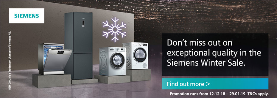 Siemens Winter Sale Oxfordshire