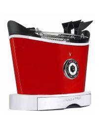 Bugatti VOLO Toaster in Red. Bugatti 13-VOLOC3
