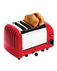 Dualit 40353 Red 4 Slice Toaster