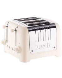 Dualit 46202 4 Slice Lite Toaster Cream