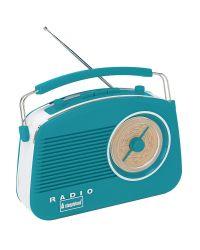 Steepletone Brighton Retro Style Radio in Duck Egg
