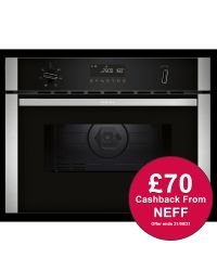 NEFF C1AMG84N0B Built-in Compact Oven with Microwave ***CASHBACK***