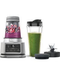 Ninja CB100UK 2-in-1 Foodi Power Nutri Blender with Auto-iQ- Silver