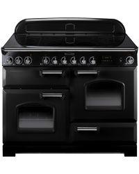 Rangemaster Classic Deluxe Range Cooker 110 Induction Black CDL110EIBL/C 90380