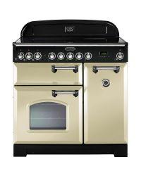 Rangemaster Classic Deluxe 90 Range Cooker Induction Cream CDL90EICR/C 90230