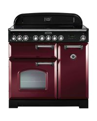 Rangemaster Classic Deluxe 90 Range Cooker Induction Cranberry CDL90EICY/C 90240