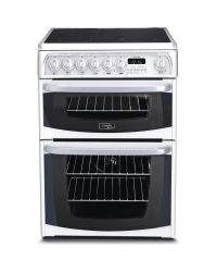Hotpoint CH60EKW Double Oven  Electric Cooker