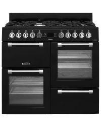 Leisure Cookmaster Range Cooker 100cm Dual Fuel Black CK100F232K