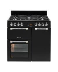 Leisure Cookmaster Range Cooker 90 Dual Fuel Black CK90F232K