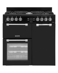 Leisure Cookmaster Range Cooker 90cm Gas Black CK90G232K