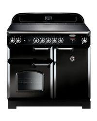 Rangemaster CLASSIC 100 Range Cooker INDUCTION BLACK CLA100EIBL/C 117120