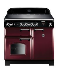 Rangemaster CLASSIC 100 Range cooker INDUCTION CRANBERRY CLA100EICY/C 117140
