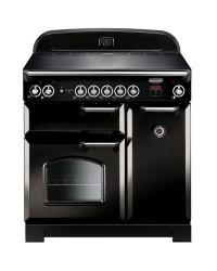 Rangemaster Classic Range Cooker 90 Induction Black  CLA90EIBL/C 116940