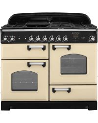Rangemaster Classic Range Cooker 110 Natural Gas Cream  CLA110NGFCR/C 116670