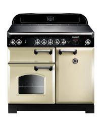 Rangemaster CLASSIC 100 Range Cooker CERAMIC CREAM CLA100ECCR/C 117610