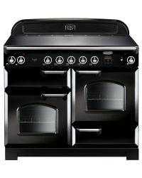 Rangemaster Classic Range Cooker 110 Induction Black CLA110EIBL/C 117030