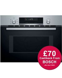 Bosch CMA585GS0B Built-in Microwave Oven with Hot Air ***CASHBACK***