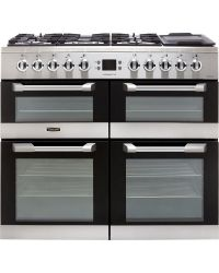 Leisure Cuisinemaster  Range Cooker 100cm Dual Fuel Stainless CS100F520X