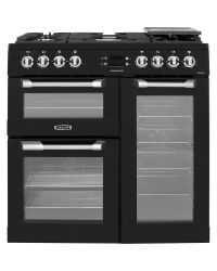 Leisure Cuisinemaster Range Cooker 90 Dual Fuel Black CS90F530K