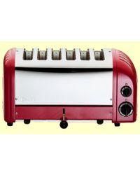 Dualit 60154 Red 6 Slice Vario Toaster