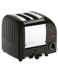 Dualit 20237 Matt Black 2 Slice Toaster