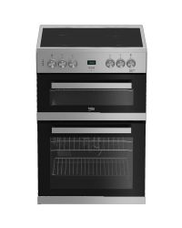 Beko EDC633S Double Oven Electric Cooker