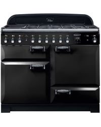 Rangemaster Elan Deluxe Range Cooker 110 Dual Fuel Black ELA110DFFBL /118000