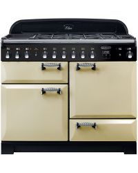 Rangemaster  Elan Deluxe Range Cooker 110 Dual Fuel Cream ELA110DFFCR 118010