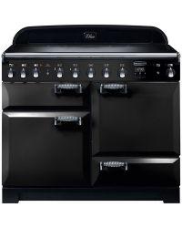 Rangemaster Elan Deluxe Range Cooker 110 Induction Black ELAS110EIBL/89500