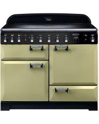 Rangemaster Elan Deluxe Range Cooker 110 Induction Olive Green ELA110EIOG 117820