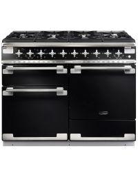 Rangemaster Elise 110 Range Cooker Dual Fuel Black ELS110DFFGB/ 94200