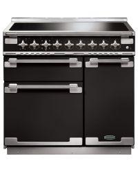 Rangemaster Elise 90 Range Cooker Induction Gloss Black ELS90EIGB/ 107870