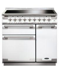 Rangemaster Elise 90 Range Cooker Induction White ELS90EIWH/ 107940