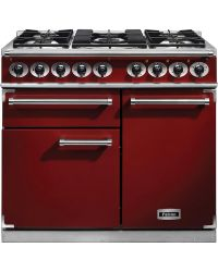 Falcon 1000 Deluxe  Range Cooker Cherry Red Dual Fuel F1000DXDFRD/NM 98500