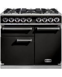 Falcon 1000 Deluxe Range Cooker Black / Dual Fuel F1000DXDFBL/CM