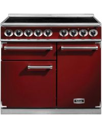 Falcon 1000 Deluxe Range Cooker Induction Cherry Red F1000DXEIRD/N-EU 100140