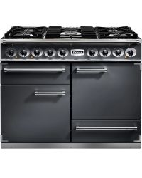 Falcon 1092 Deluxe Range Cooker 110 Dual Fuel Slate F1092DXDFSL/NM 102240