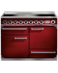 Falcon 1092 Deluxe Range Cooker Cherry Red 110 Induction F1092DXEIRD/N-EU