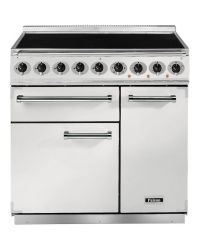 Falcon 900 Deluxe Range Cooker 90 Induction White  F900DXEIWH/N-EU 82430