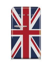 Smeg FAB10RDUJ2 Union Jack 50 Style Retro Fridge  & Ice Box