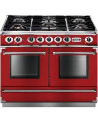 Falcon Continental Range Cooker 110 Dual Fuel Cherry Red FCON1092DFRD/NG-EU